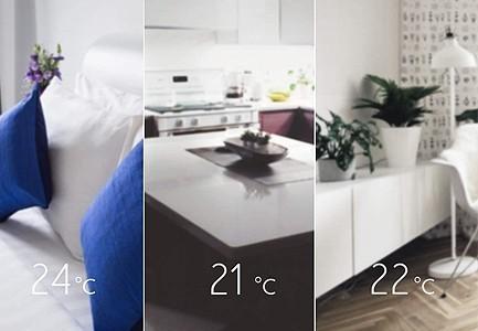 Contrôle domotique ou manuel du chauffage