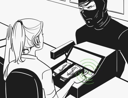 Bouton d'urgence – Alarme connectée Ajax