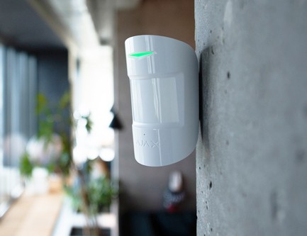 Détecteur de bris de vitre et mouvement sans fil