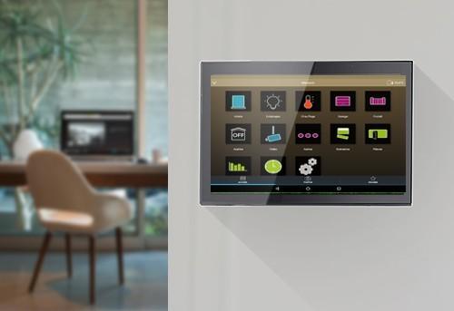 Contrôleur domotique Android - Tablette encastrable tactile
