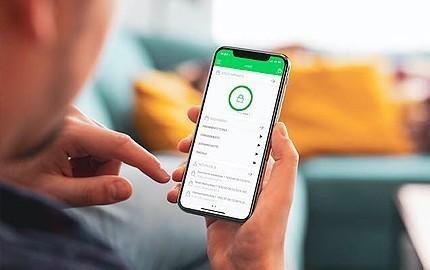 Application mobile de gestion de l'alarme Comelit et de ses accessoires