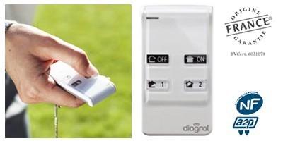 Télécommande 4 fonctions DIAG41ACK