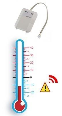 Sonde technique de panne de congélateur Diagral SONPC