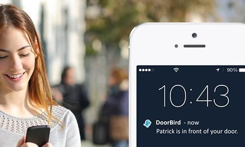 Portier vidéo IP wifi multi-utilisateurs - 2 sonnettes - Doorbird D2102V