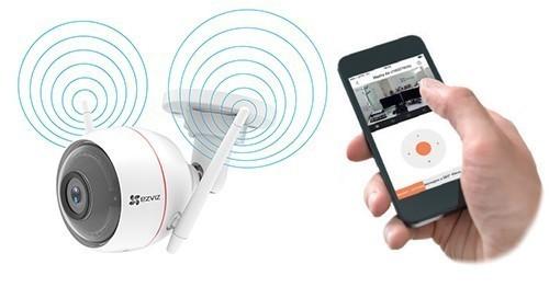 Enregistreur vidéo Wi-Fi 4 canaux + disque dur 1 To - Ezviz X5C