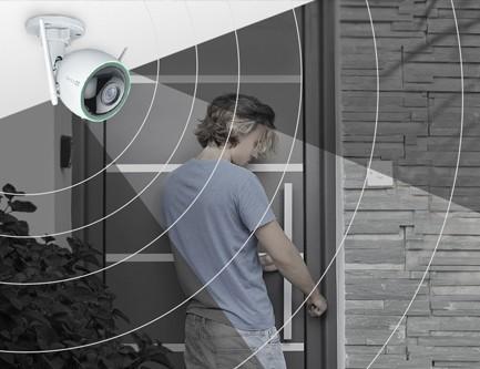 C3n avec détection d'intrusion assistée par IA.