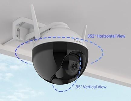 Caméra IP wifi extérieur avec vision nocturne en couleur