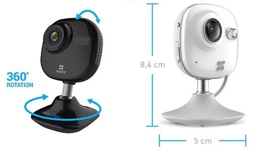 Caméra connectée Mini plus Ezviz : vision et interaction à distance