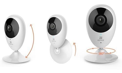 Caméra 720p - Vision nocturne 5m