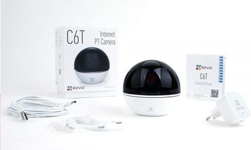 Caméra wifi motorisée 360° - C6T Ezviz