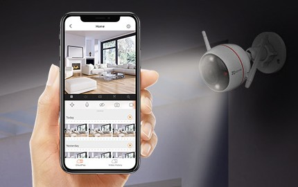 Caméra connectée associable à un système de sécurité complet<