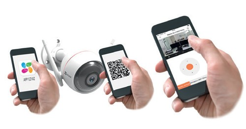 Caméra wifi extérieure 1080p - C3W Ezviz