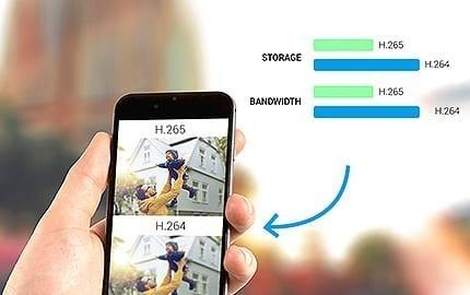 Caméra IP wi-fi extérieure à double objectif