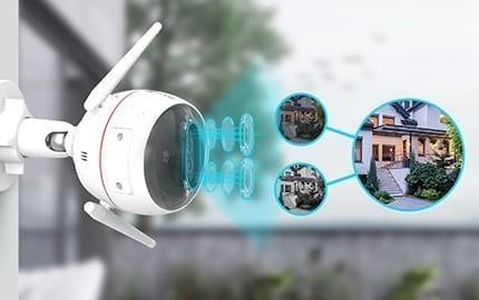 Caméra IP extérieure - IA intégrée - C3X Ezviz