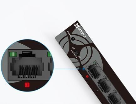 >Switch Gigabit Ethernet à 5 ports W6 - Ezviz