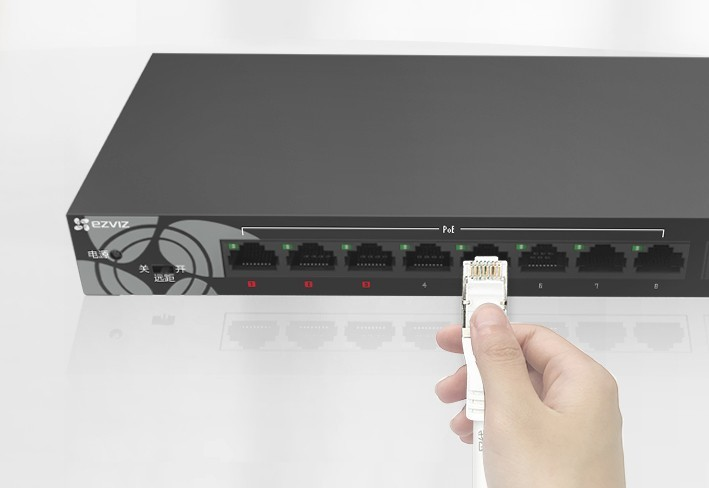 Switch Gigabit Ethernet à 9 ports W6 - Ezviz