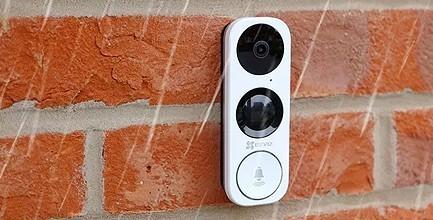 Sonnette vidéo wifi 3 mégapixels - Ezviz