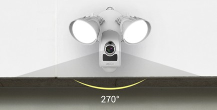 projecteur LED  et sirène - LC1C - Ezviz