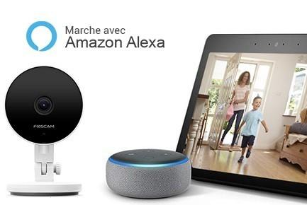SCaméra compatible Alexa