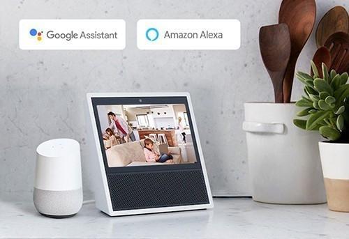 Compatible Amazon Alexa et Google Assistant