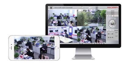 Kit de vidéosurveillance 720p