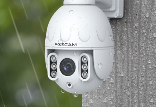 Caméra IP dôme motorisée Foscam