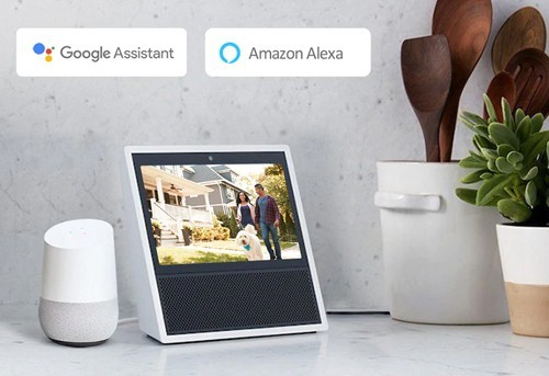 Compatible Amazon Alexa et Google Assistant