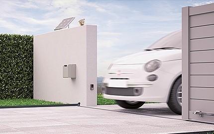 Kit d'alimentation solaire NiceHome - Motorisation de portail