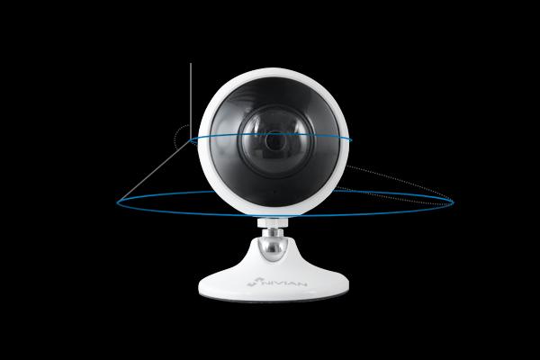 Caméra WI-FI 3Mp orientable sur sa base