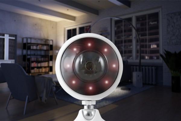 Caméra intérieure avec vision nocturne