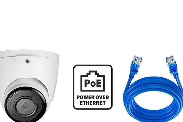 Caméra POE avec alimentation via câble Ethernet