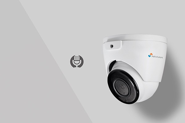 Caméra extérieure classée IP66