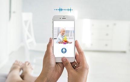 Caméra IP avec audio bi-directionnelle
