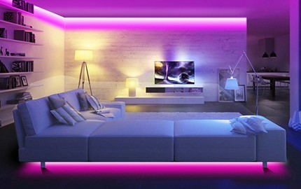 Ruban LED mutlticolore NVS-RGBSTRIP-2-W - Nivian