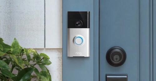 Portier vidéo Ring - Répondre à distance aux visiteurs