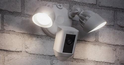 Caméra extérieure avec détecteur