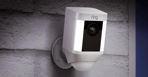 Caméra extérieure wifi Ring