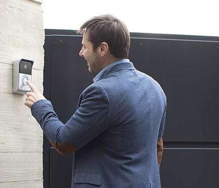 Interphone vidéo connecté Somfy