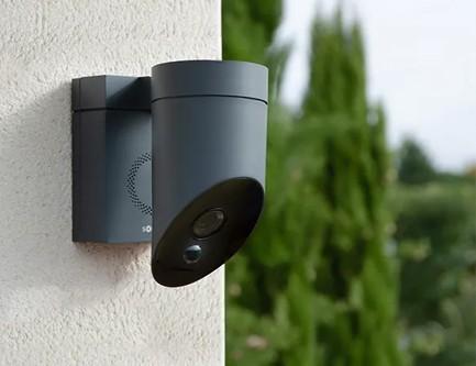 Caméra extérieure avec application smartphone