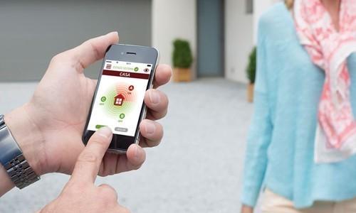 Pilotage à distance alarme Somfy Protexiom Online Premium