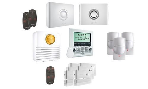 Pack alarme Somfy Protexiom GSM Online premium – Alarme GSM connectée