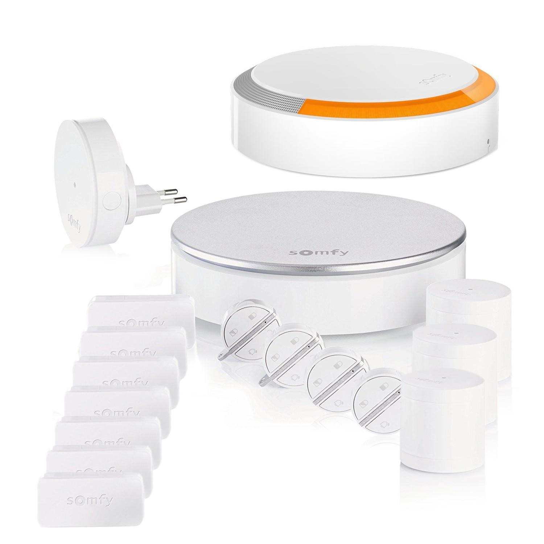 Composition du pack alarme Somfy Home Alarm - kit 1