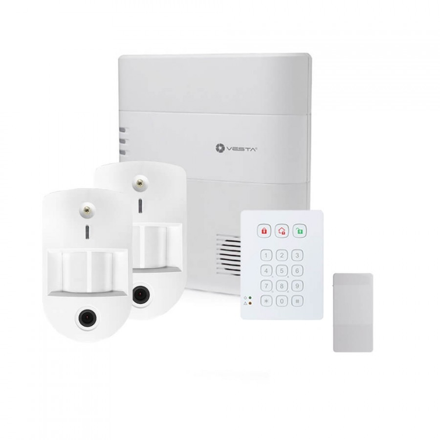Pack alarme Vesta avec transmission IP